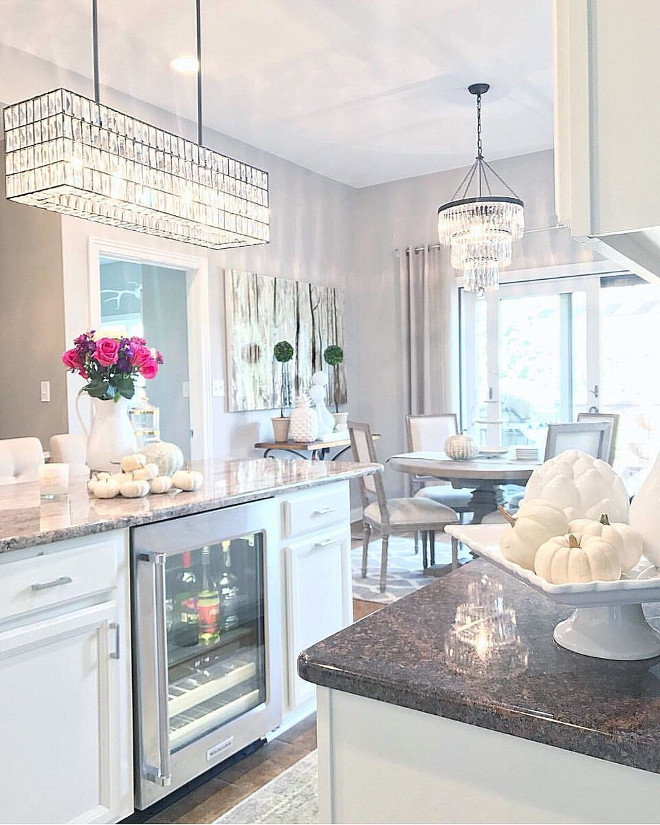 Kitchen Island Linear Chandelier Beautiful Homes of Instagram Home Bunch