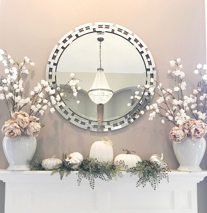 Mantel Mirror, Mantel Mirror, Mirror is from Z Gallerie Mantel Mirror #Mantel #Mirror Beautiful Homes of Instagram Home Bunch