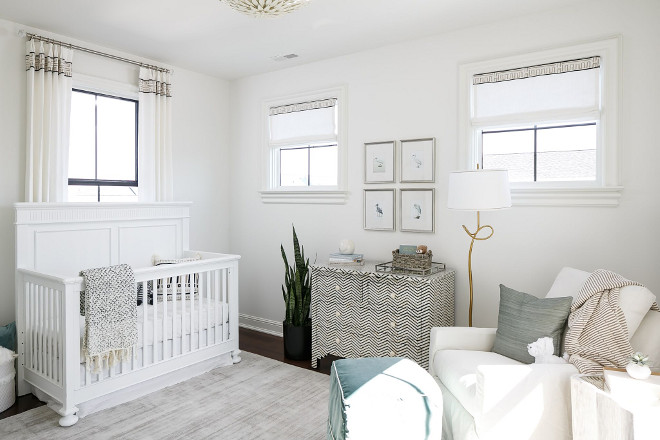 Nursery. Neutral gender nursery. How to design a beautiful neutral gender nursery #neutralgendernursery Ramage Company