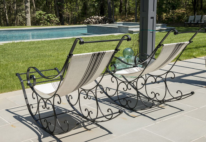 Pool Rocking Chairs