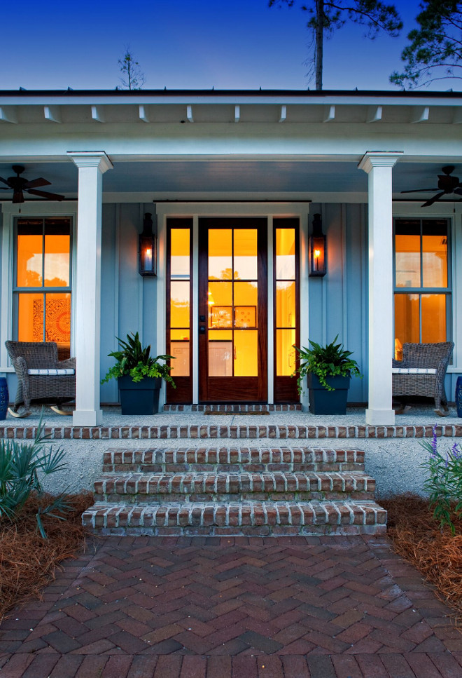 Porch with brick steps. Porch with brick steps. Porch with brick steps. Porch with brick steps. #Porchbricksteps