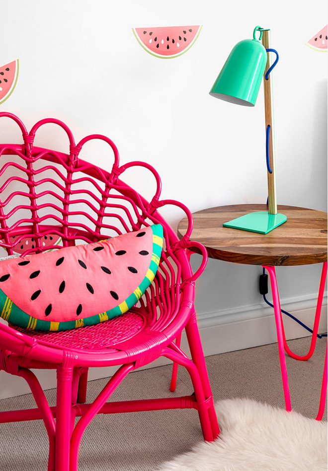 The Land of Nod Magenta Rattan Chair The Land of Nod Magenta Rattan Chair The Land of Nod Magenta Rattan Chair #TheLandofNod #Magentachair #Rattan #Chair