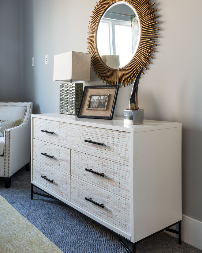 West Elm Wood Tiled Dresser Bedroom dresser is West Elm Wood Tiled Dresser #WestElm #WoodTiledDresser #bedroomdresser