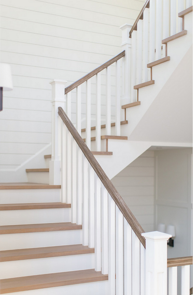 Wood Railing. White Oak Wood Railing White oak railing #woodrailing #railing #whiteoak #whiteoakrailing