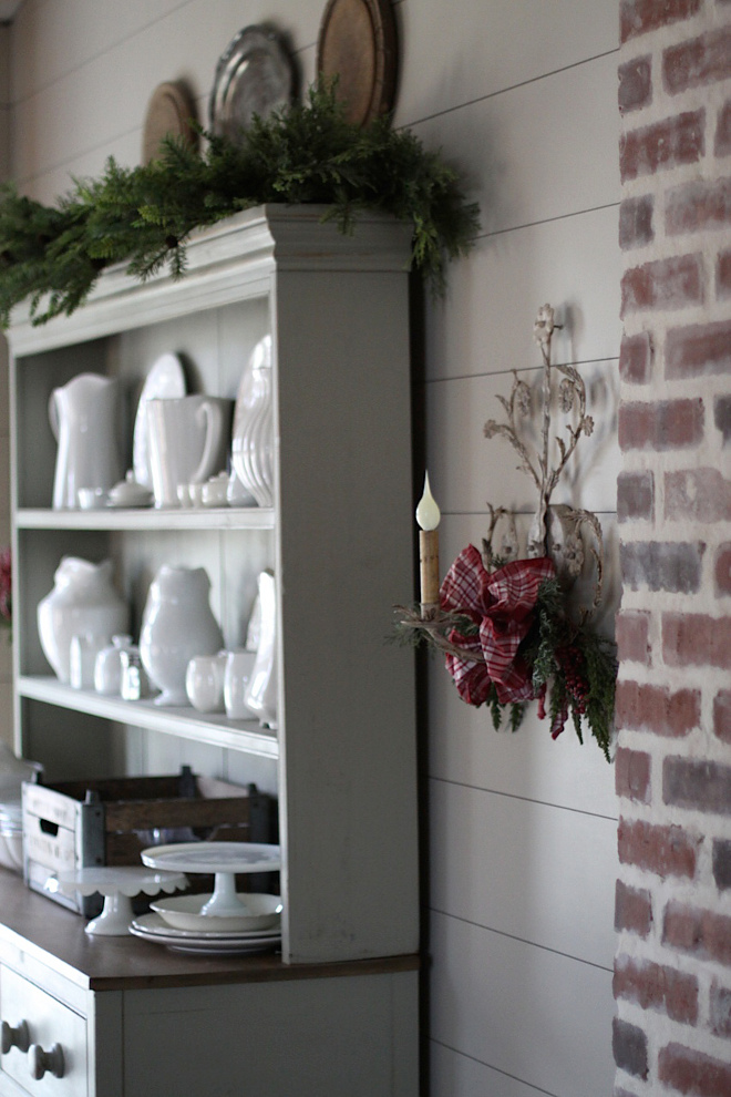Dining Room Sconce Christmas Decor