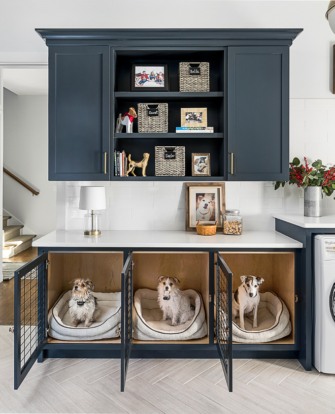 Built in Dog Kennel Mudroom Dog kennel Cabinet Mudroom Dog kennel Cabinet Ideas