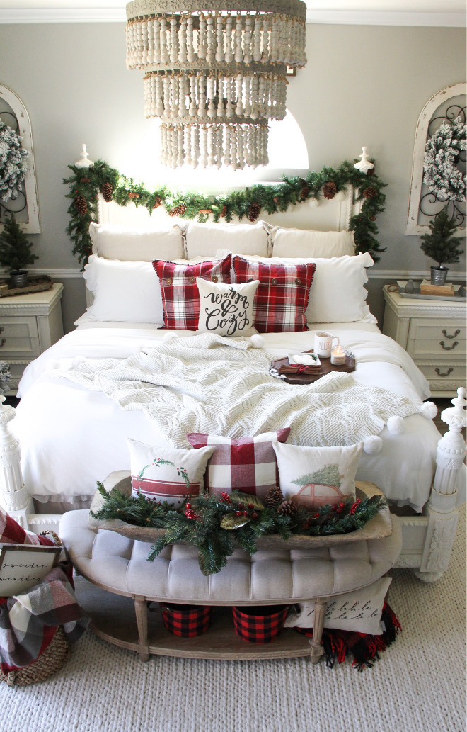 Christmas Bedroom Decor Christmas Bedroom Decor Best Christmas Bedroom Decor Ideas #ChristmasBedroomDecor Home Bunch Beautiful Homes of Instagram