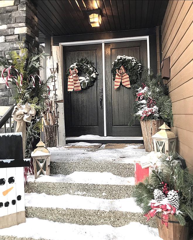 Christmas Ski Lodge Porch Decor Ideas Christmas Ski Lodge Porch Decor Ideas Christmas Ski Lodge Porch Decor Ideas Beautiful Homes of Instagram Home Bunch