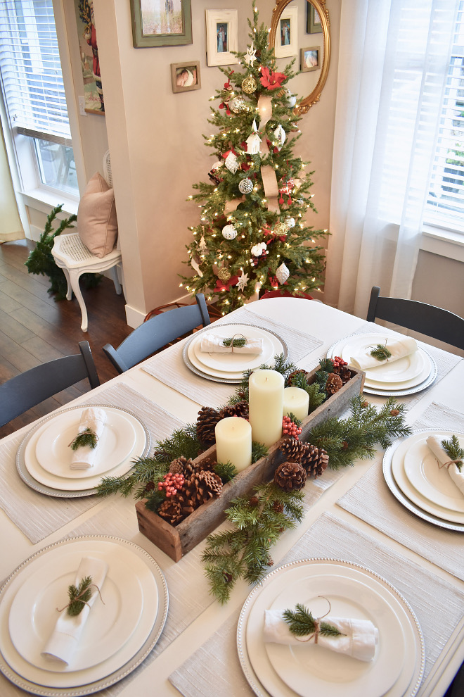 Christmas Tablescape Christmas Tablescape DIY Christmas Tablescape #ChristmasTablescape Home Bunch's Beautiful Homes of Instagram