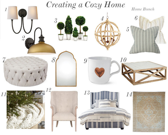 Creating a cozy and layered home