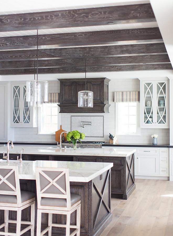 Driftwood kitchen cabinet