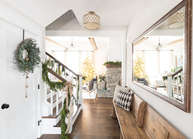 Foyer Bench Foyer Bench Foyer Bench Ideas Foyer Bench Wood Foyer Bench #woodFoyerBench #foyerBench #Bench Home Bunch Beautiful Homes of Instagram