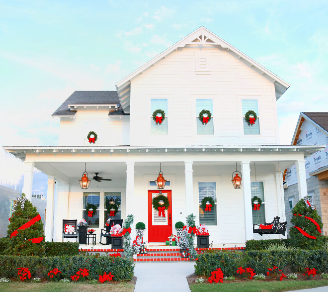 Front House Christmas Decorating Ideas Best Front House Christmas Decorating Ideas Front House Christmas Decorating Ideas