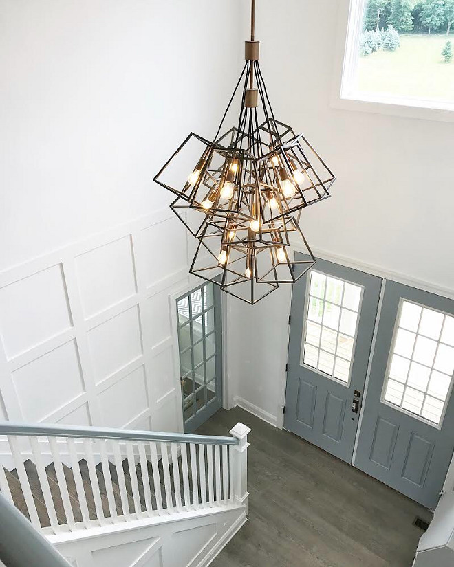 Geometric Pendant Hinkley Lighting Geometric Pendant Hinkley Lighting Fulton 13-Light Geometric Pendant #GeometricPendant Home Bunch Beautiful Homes of Instagram