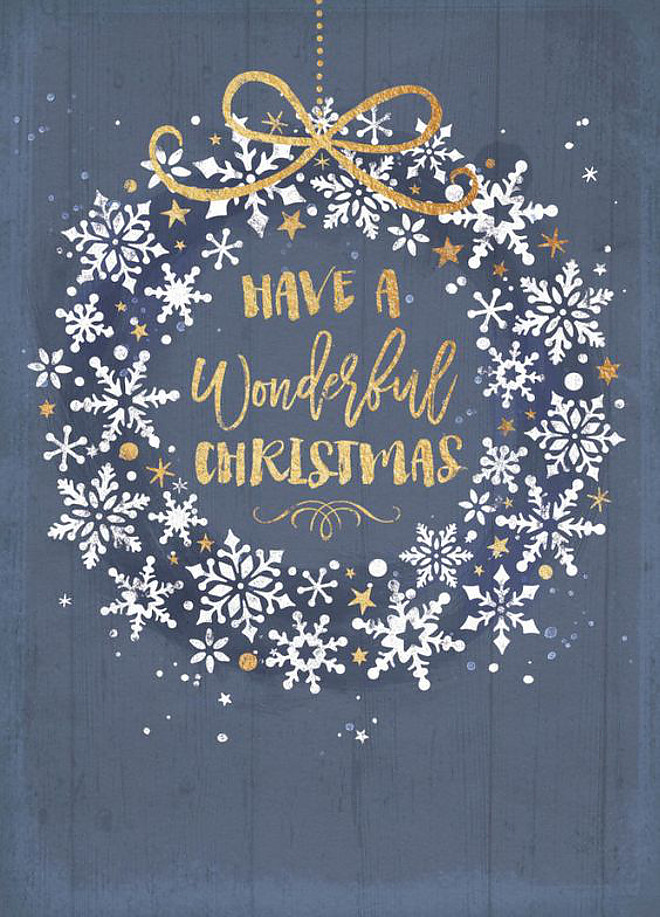 Have a Wonderful Christmas