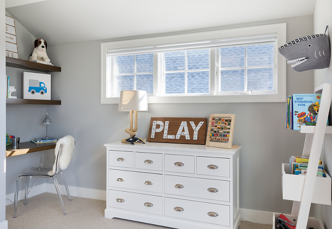 Kids Bedroom Desk Kids Bedroom Desk Kids Bedroom Desk This kid's bedroom features chunky shelves and desk