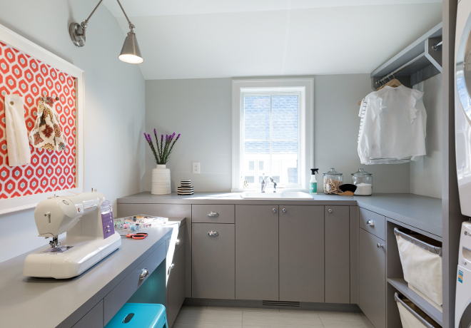 Laundry room sewing room ideas Laundry room sewing room design Laundry room sewing room design ideas