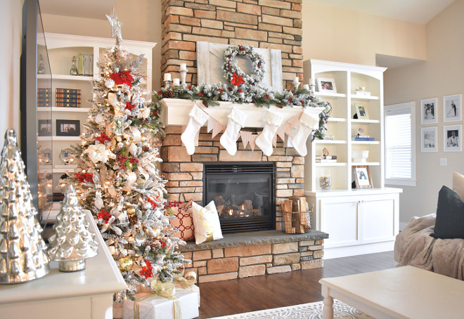 Living room Christmas Ideas - Home Bunch's Beautiful Homes of Instagram