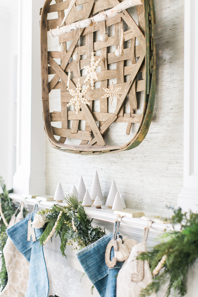 Neutral Christmas Mantel Neutral Christmas Mantel Neutral Christmas Mantel