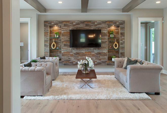 Neutral Living Room Paint Color Sherwin Williams Accessible Beige Home Bunch