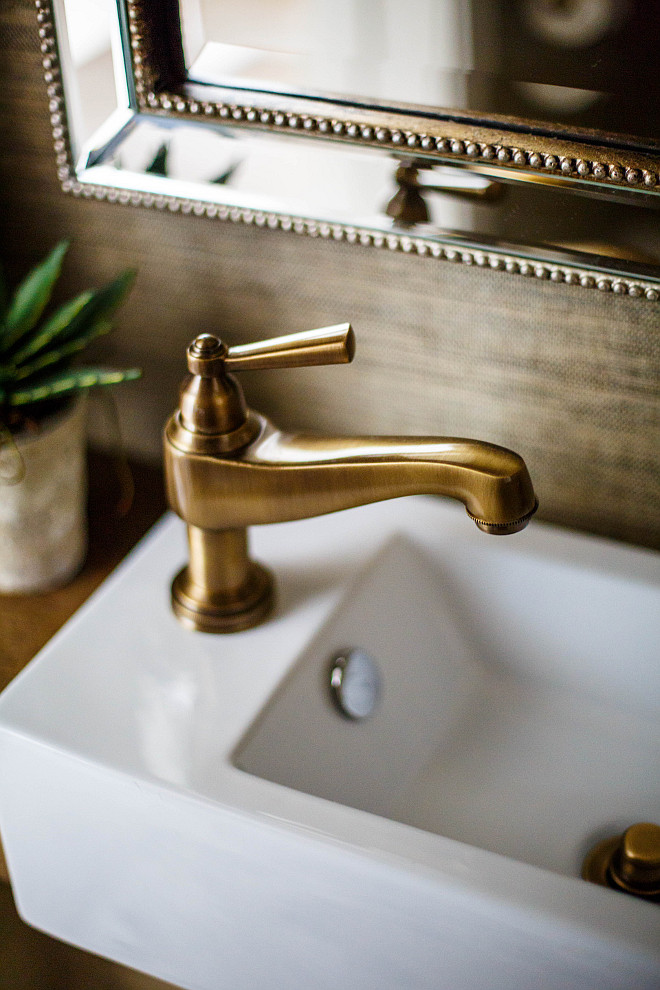 Newport Brass Miro Antique Brass One Handle Lavatory Faucet