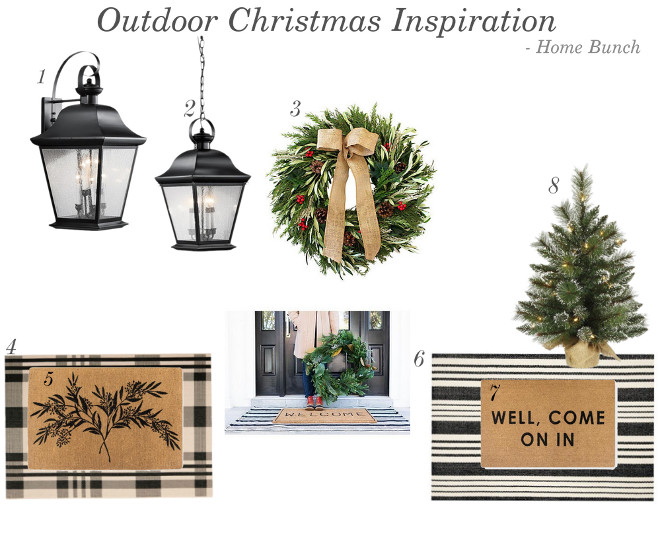 Outdoor Christmas Inspiration Shopping