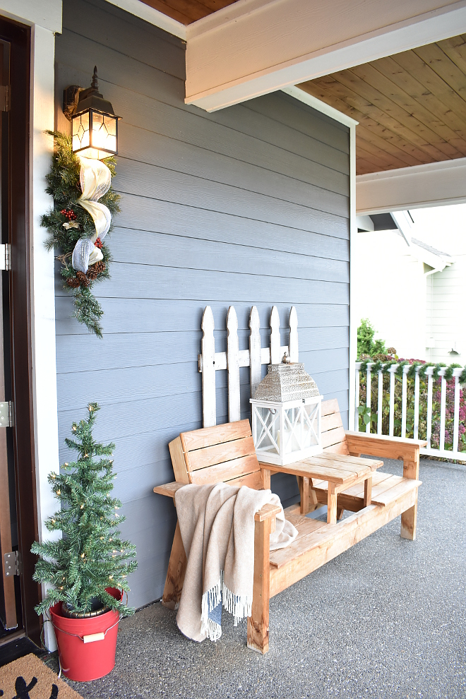 Porch Bench DIY Porch Bench Porch Bench Ideas DIY Porch Bench Ideas #Porch #Bench #DIYBench Home Bunch's Beautiful Homes of Instagram
