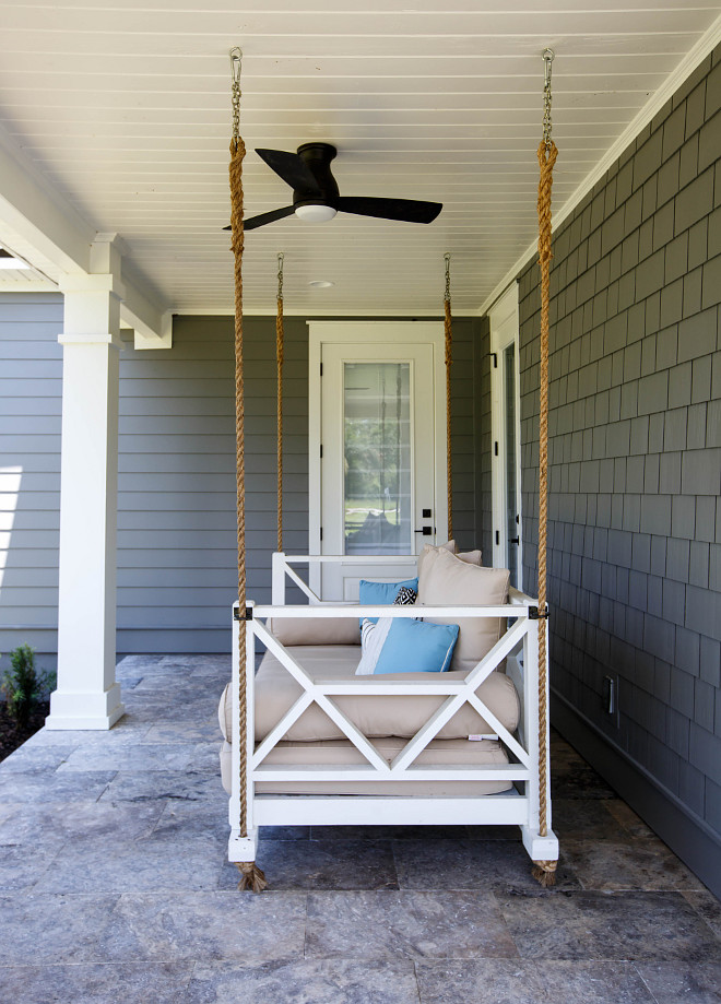 Rope Bed swing Porch Rope Bed swing Rope Bed swing Ideas Front porch Rope Bed swing