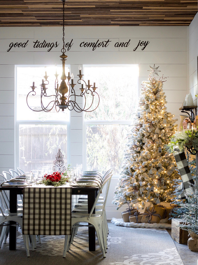 Shiplap Farmhouse Dining Room Christmas Shiplap Farmhouse Dining Room Christmas Shiplap Farmhouse Dining Room Christmas