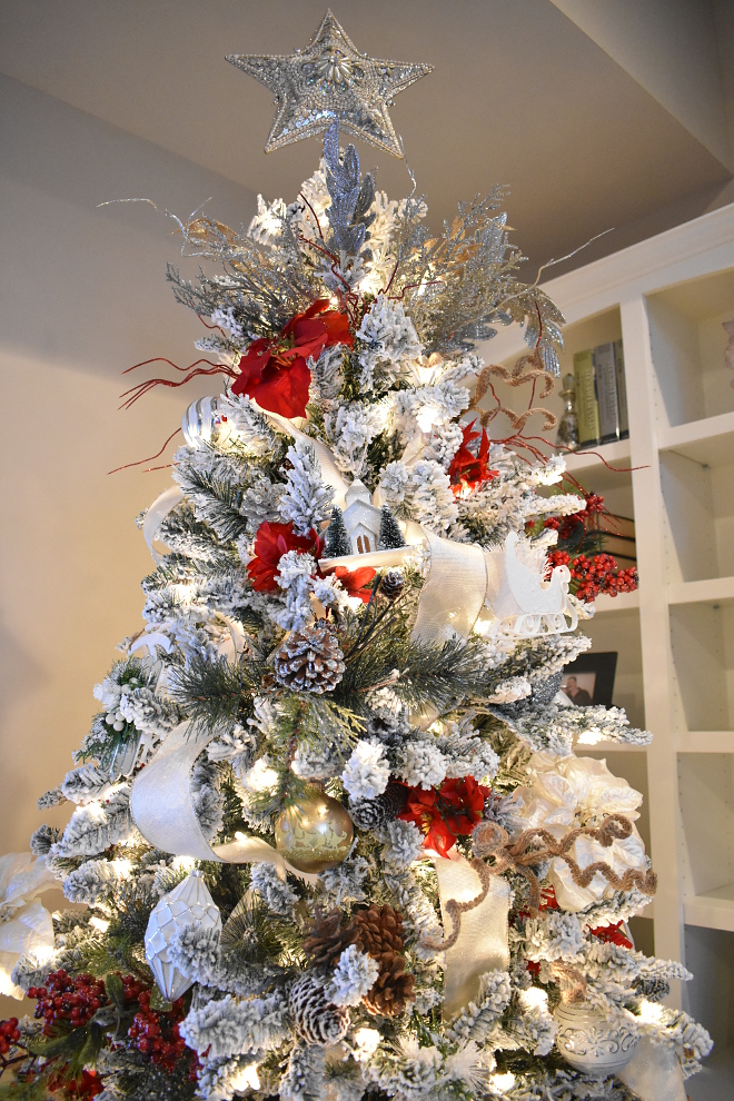 Tree Topper Christmas Tree Topper #treetopper Home Bunch's Beautiful Homes of Instagram