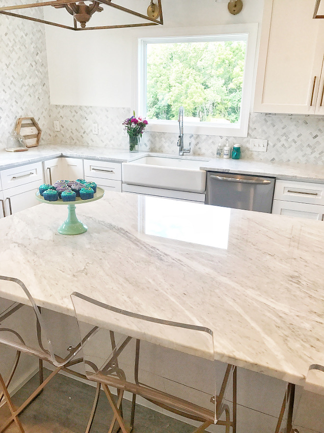 White Carrara marble White Carrara marble White Carrara marble #WhiteCarraramarble Home Bunch Beautiful Homes of Instagram
