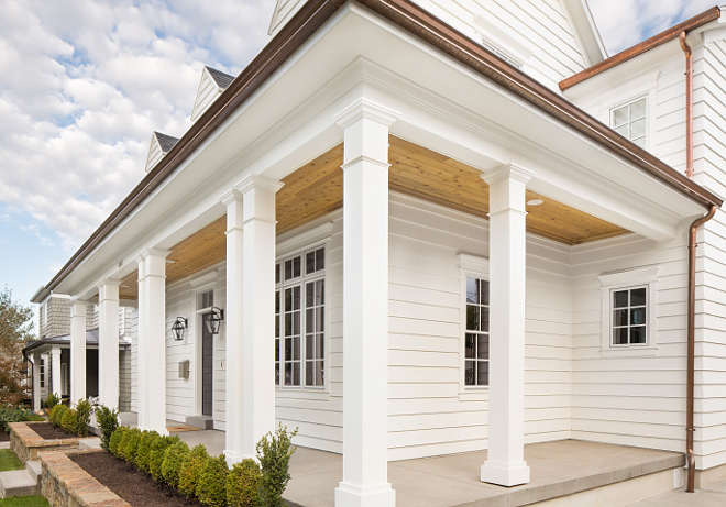 Wrap-around porch columns Front porch with classic columns Wrap-around porch columns #Wraparoundporch #porchcolumns #porch #columns