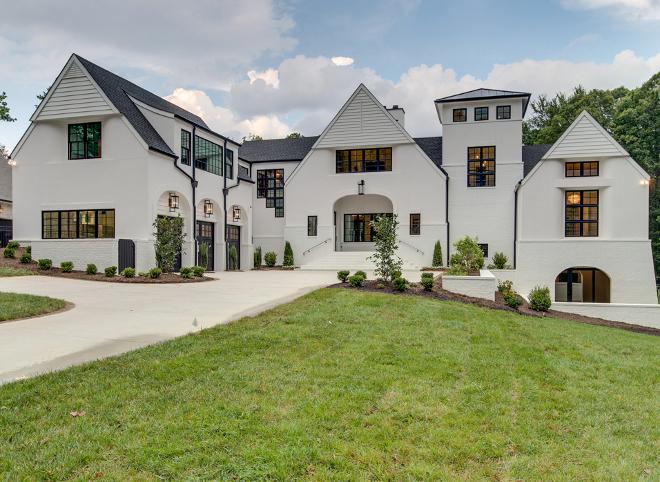 Belgian Inspired Home Exterior Belgian Inspired Home Exterior Belgian Inspired Home Exterior #BelgianInspiredHomeExterior