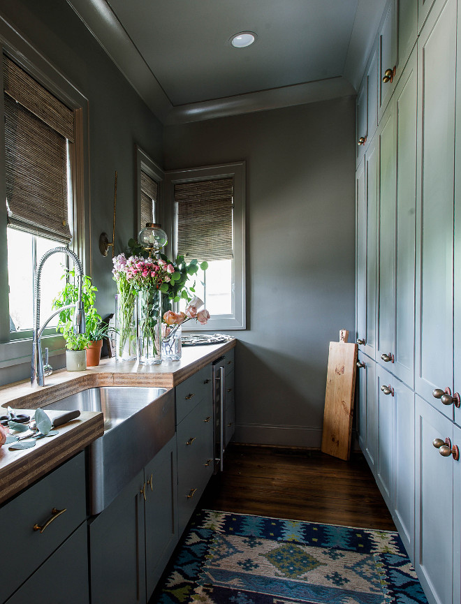 Butlers Pantry Farmhouse Sink Industrial Faucet