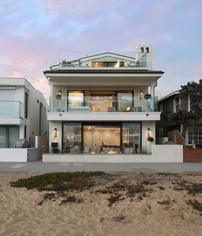 California Beach House Modern California Beach House Oceanfront California Beach House