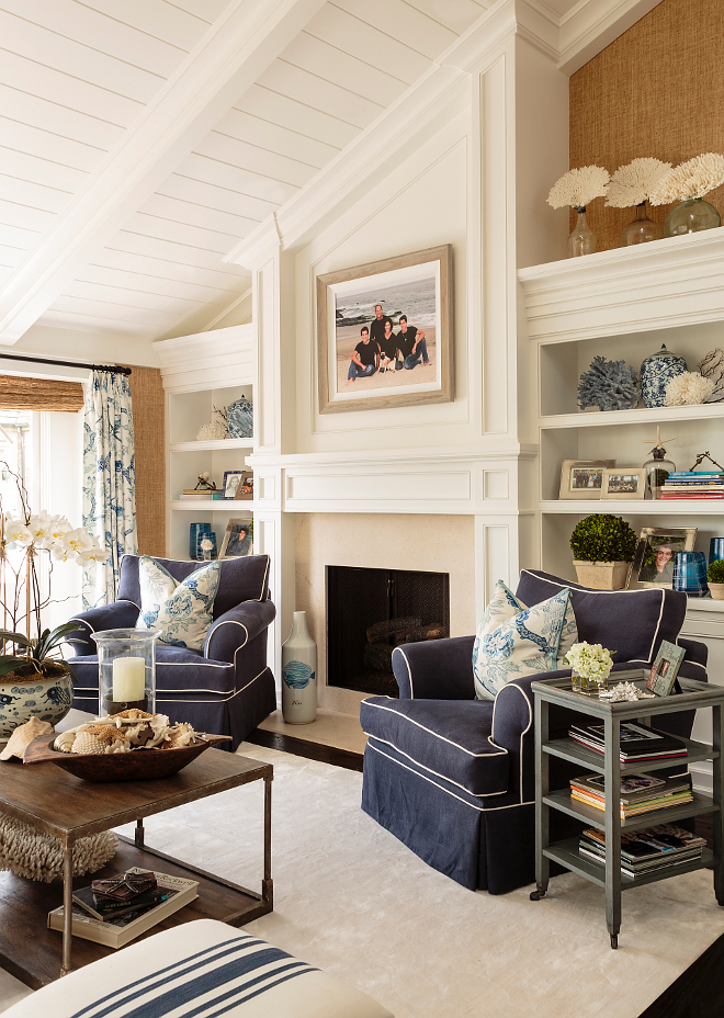 California Beach House With Classic Coastal Interiors
