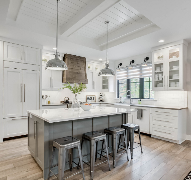 Chelsea Gray by Benjamin Moore Cabinet Color Kitchen Island Color Chelsea Gray by Benjamin Moore