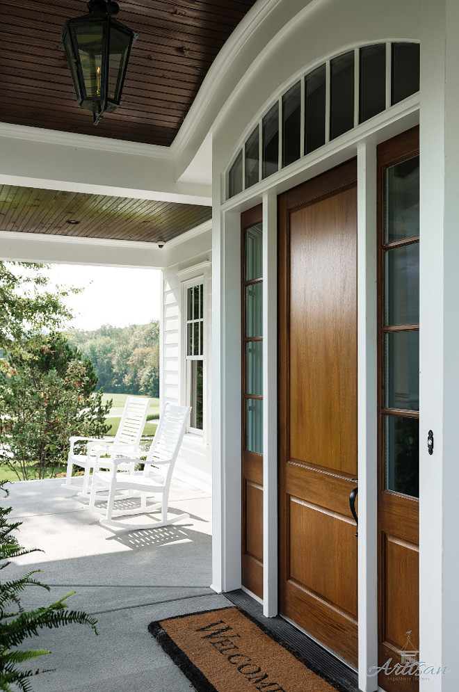 Door sidelights with arched transom Front door Door sidelights with arched transom Door sidelights with arched transom