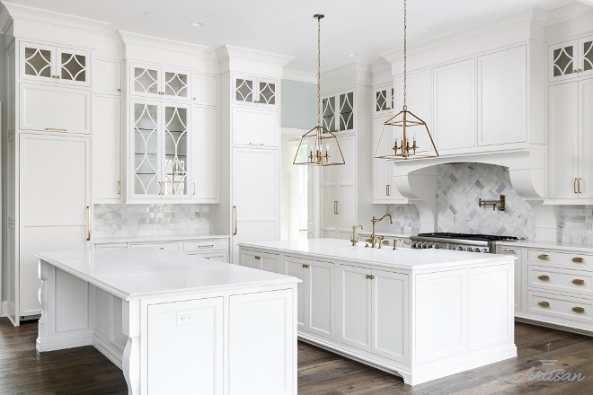 Double Islands White Kitchen Double Island Double White Islands Kitchen Islands