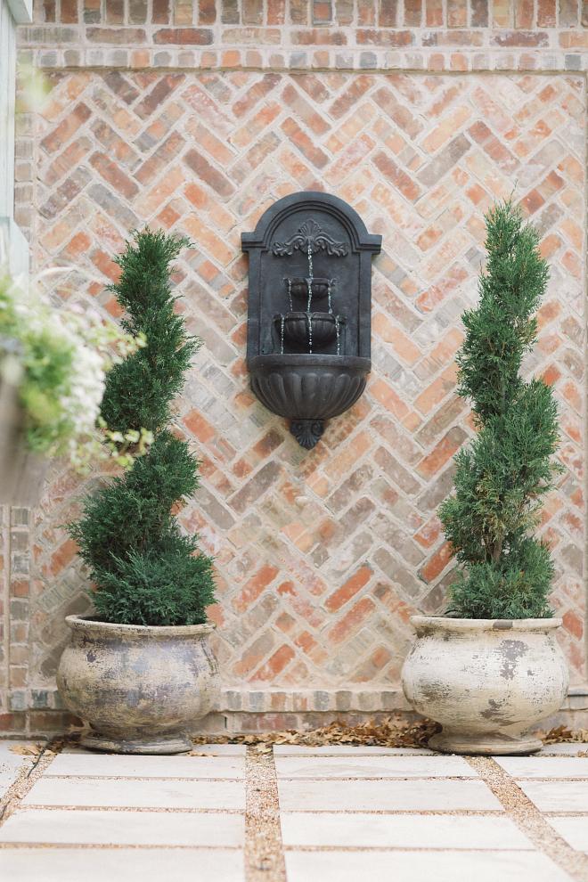 Exterior Herringbone Brick Exterior Herringbone Brick Exterior Herringbone Brick #ExteriorHerringboneBrick