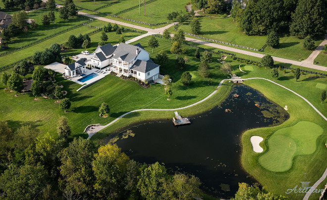 Farmhouse Backyard Ideas