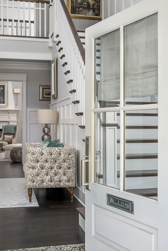 Ice Cube by Sherwin Williams White Front Door Paint Color Ice Cube by Sherwin Williams