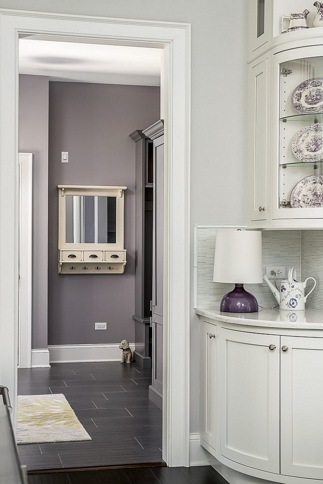 Kitchen opens to the mudroom/laundry room