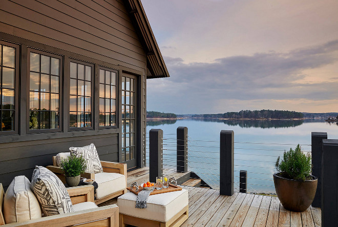 Lakehouse Deck Cable Railing