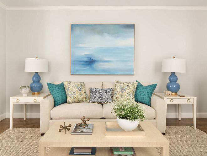 Living room art framed art in living room above sofa