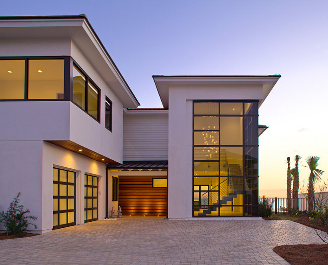 Modern Beach House Florida Modern Beach House