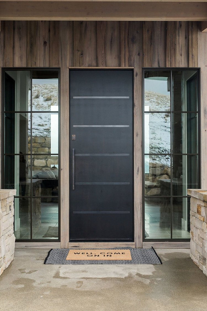Modern Farmhouse Black Front Door Modern Farmhouse Black Front Door Modern Farmhouse Black Front Door