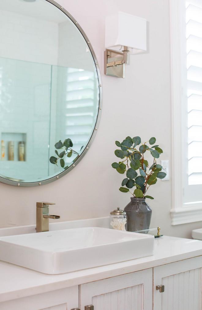 Nailhead silver edge mirror Bathroom mirror Nailhead silver edge mirror Nailhead silver edge mirror