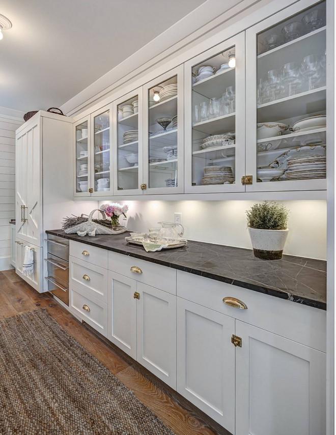 Pratt and Lambert Milk White Cabinet Color
