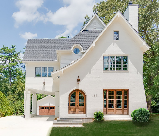 Sherwin Williams Natural Choice Creamy White Brick Exterior Paint Color Sherwin Williams Natural Choice